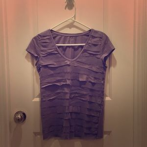 Violet toned dress T-shirt